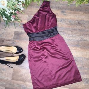 Worthington • One Shoulder Cocktail Dress